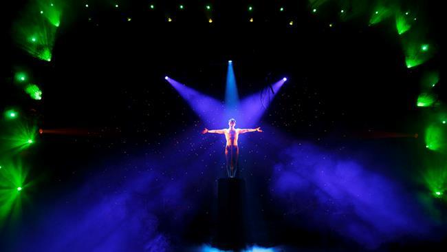Esibizione dal vivo di Darren Criss