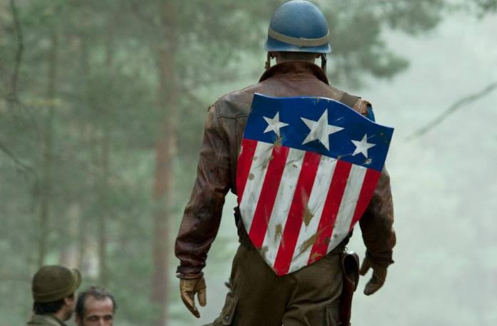 Chris Evans in Captain America - Il primo Vendicatore