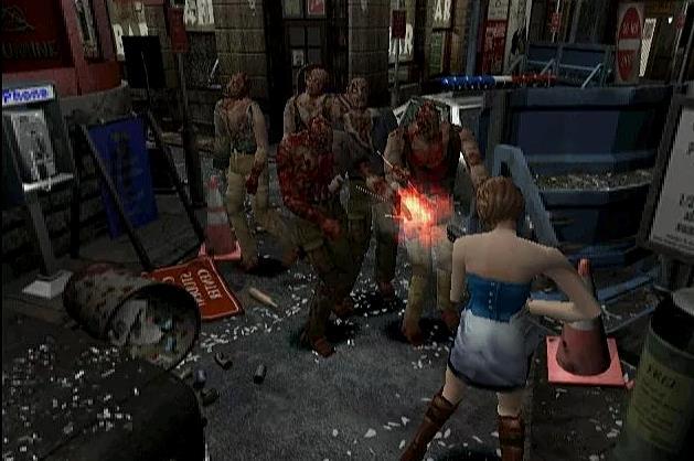 Un'immagine di gioco da Resident Evil 3