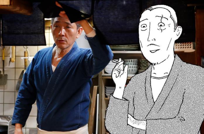 Un'immagine della serie e una del manga a confronto