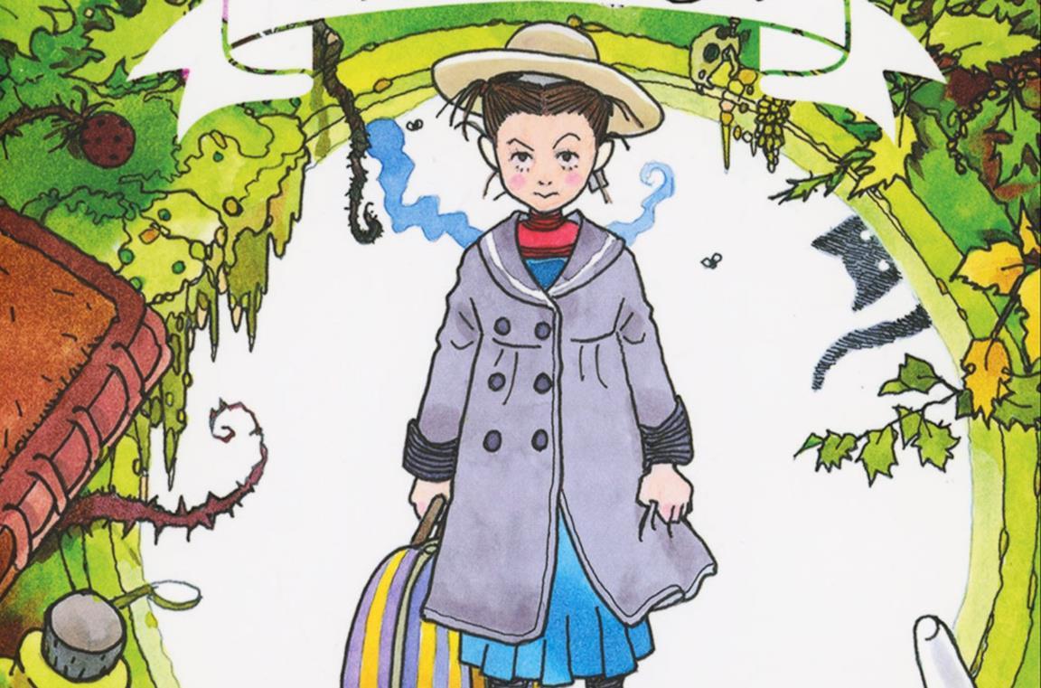 La copertina del romanzo Earwig e la strega