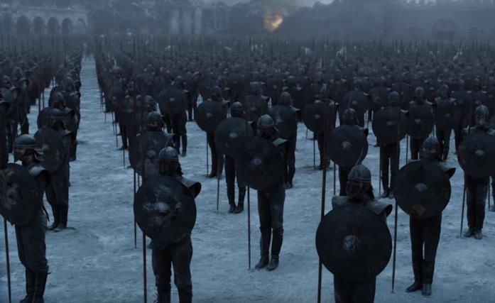 Gli Immacolati in Game of Thrones 8x06