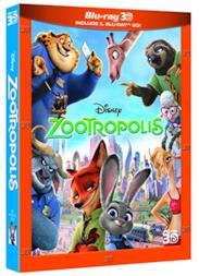 Zootropolis 3D (2 Blu-Ray);Zootropolis