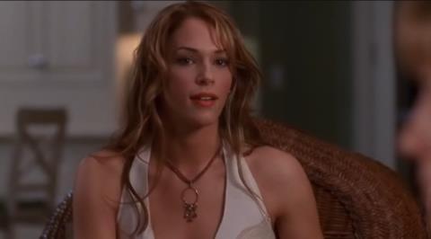 Amanda Righetti nella serie TV The O.C.