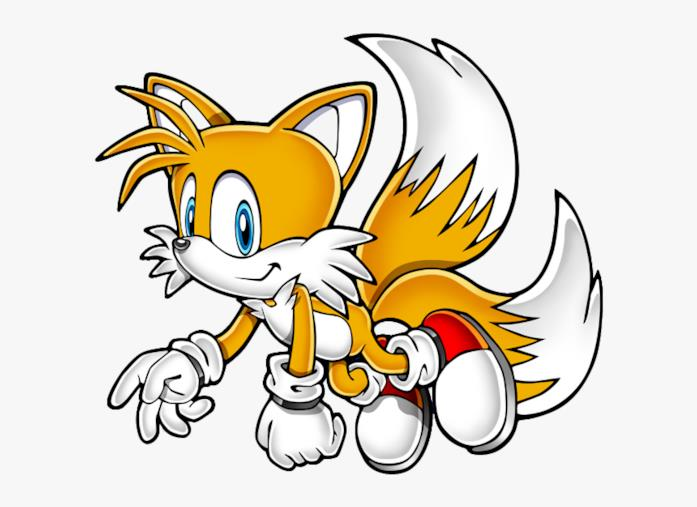 Tails la volpe Sonic