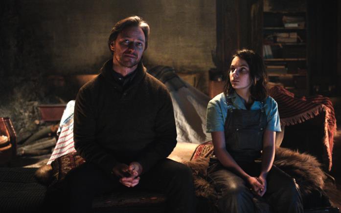 Lyra e Asriel parlano della Polvere nel finale della prima stagione di Queste oscure materie