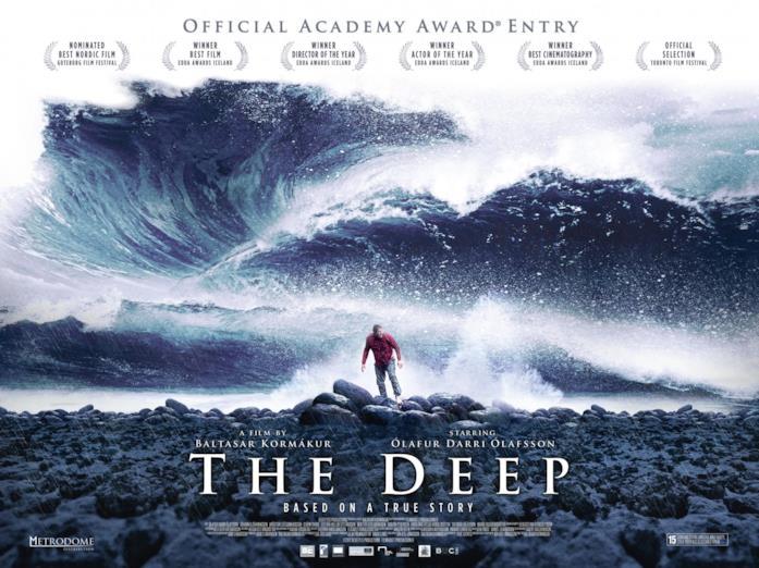Il poster ufficiale del film The Deep