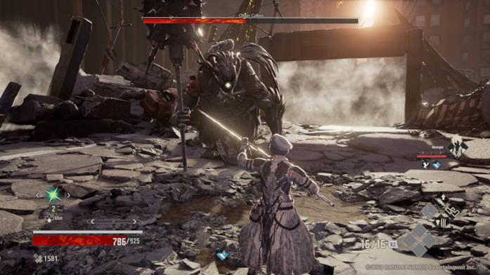 Code Vein boss fight