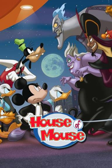 Poster House of Mouse - Il Topoclub