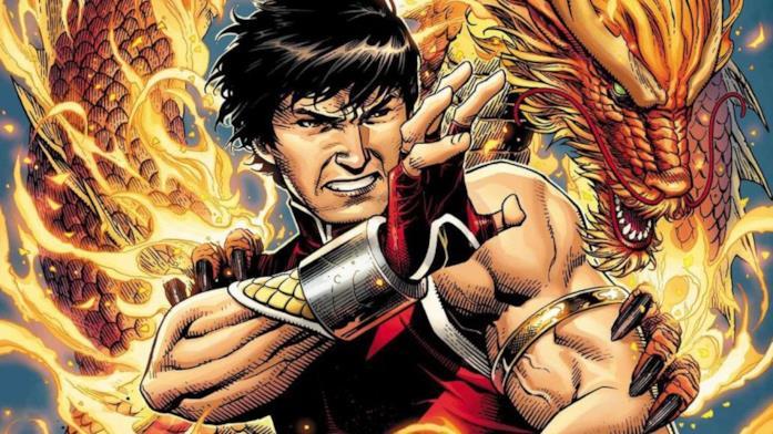 Shang-Chi una illustrazione tratta da un albo Marvel