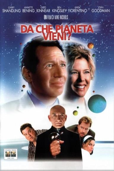 Poster Da che pianeta vieni?