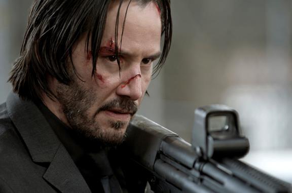 Keanu Reeves nei panni di John Wick