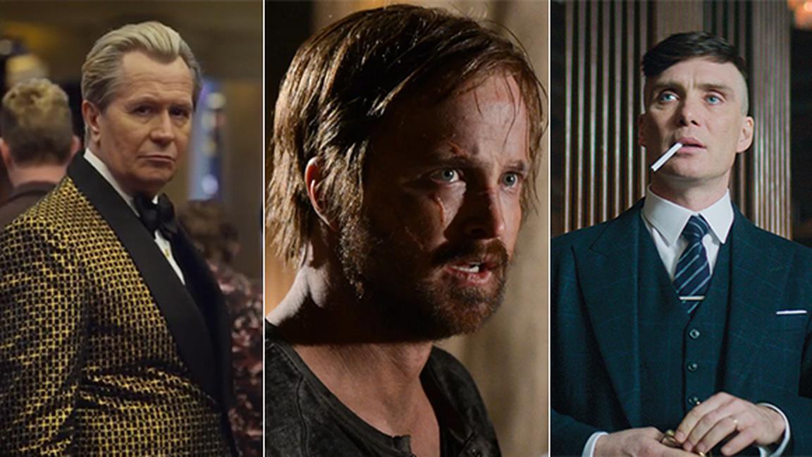 Gary Oldman in Panama Papers, Aaaron Paul in El Camino e Cillian Murphy in Peaky Blinders