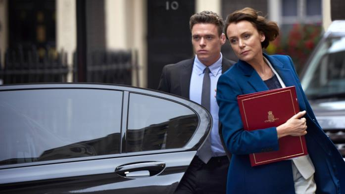 Keeley Hawes e Richard Madden in Bodyguard