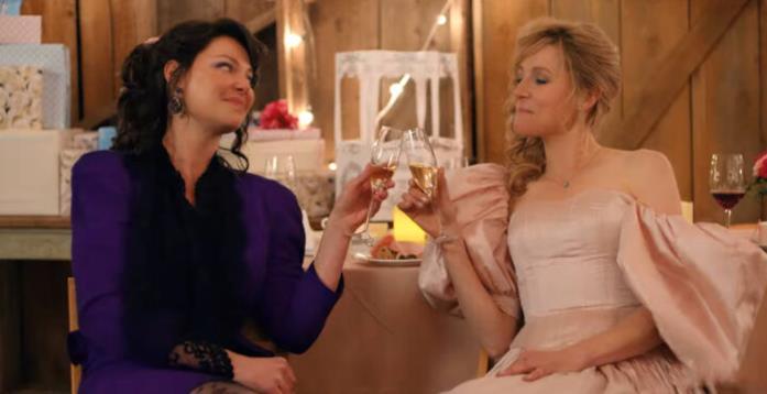 Katherine Heigl e Sarah Chalke in Firefly Lane