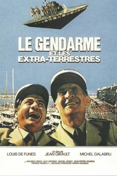 Poster Il Gendarme E Gli Extraterrestri