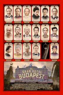 Poster Grand Budapest Hotel