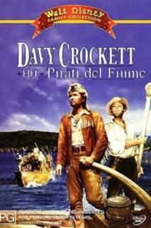 Poster Davy Crockett ed i Pirati del Fiume