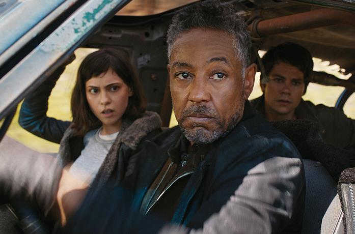 I protagonisti di Maze Runner 3 in una scena