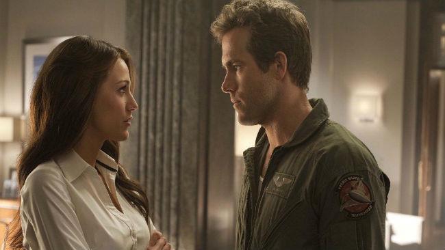 Blake Lively e Ryan Reynolds in Lanterna verde