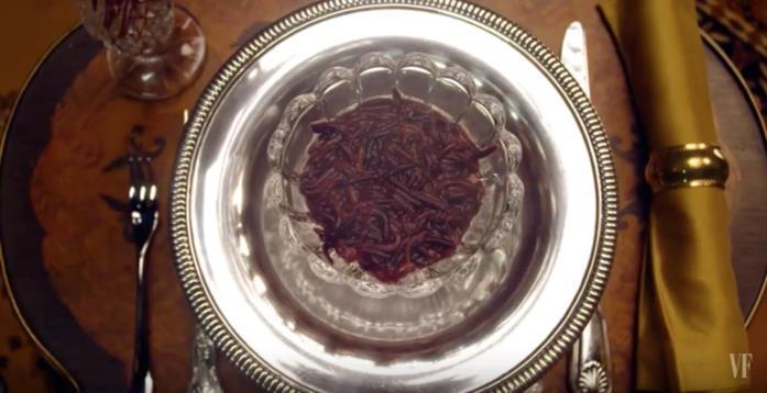 Il piatto di insetti di Nicole Kidman