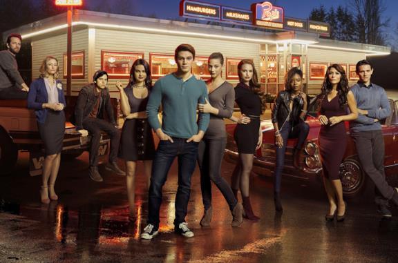 I protagonisti di Riverdale