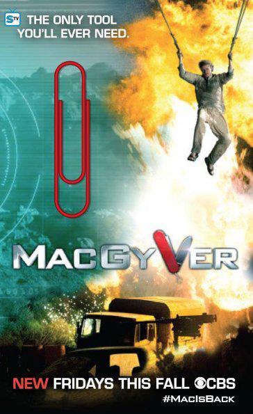 Poster reboot MacGyver