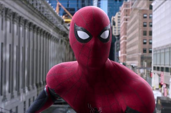 Un'immagine di Spider-Man in Far From Home