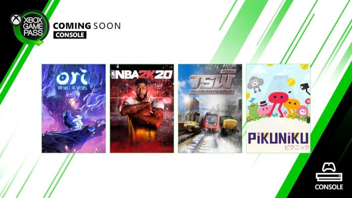 Xbox Game pass aggiunte console