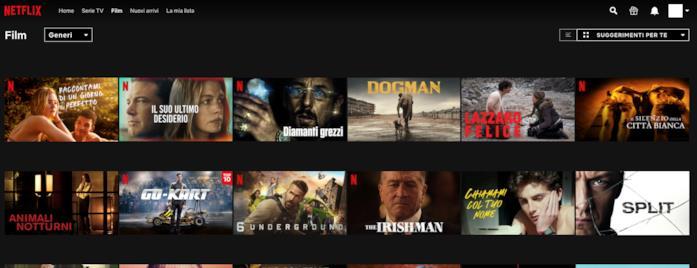 Come visualizzare le anteprime in miniatura di Netflix