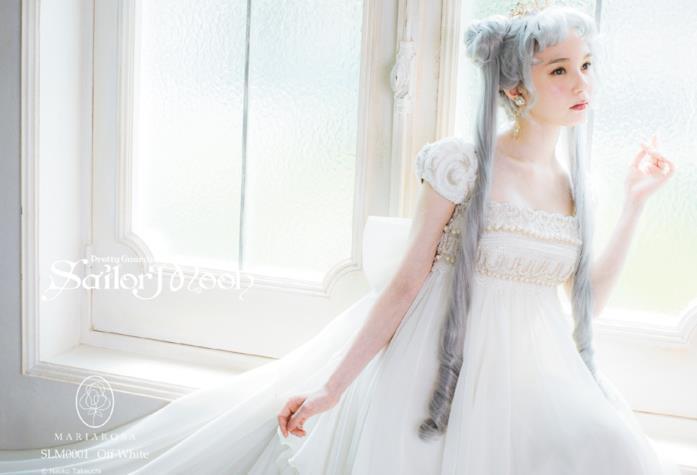 L'abito da sposa Serenity dedicato a Sailor Moon