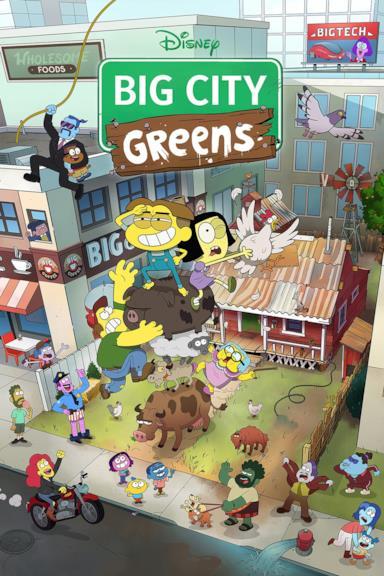 Poster I Greens in Città