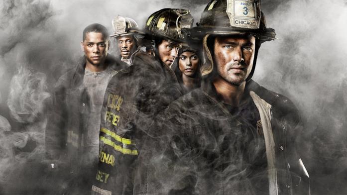 Chicago Fire: una scena della serie TV