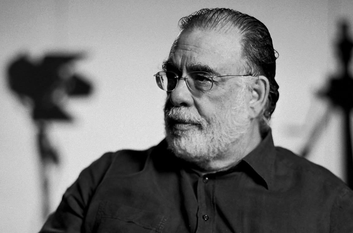 Un'immagine del regista Francis Ford Coppola