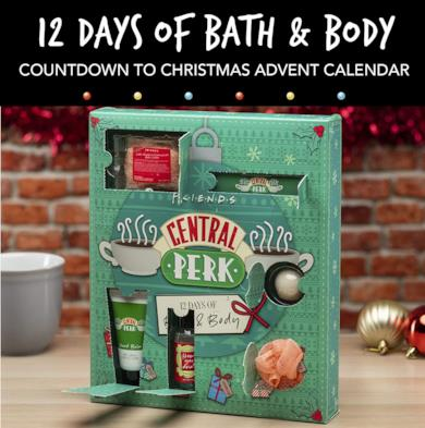 Il calendario dell'avvento skincare del Central Perk
