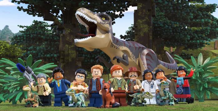 La presentazione di LEGO Jurassic World: Legend of Isla Nublar