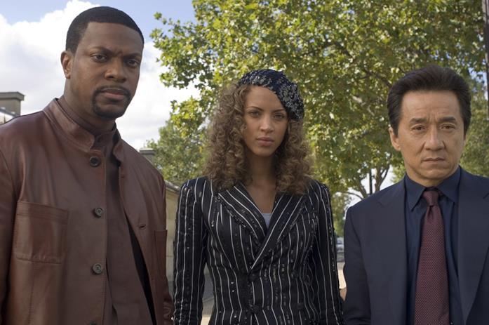 Jackie Chan, Chris Tucker e Noémie Lenoir in Rush Hour 3