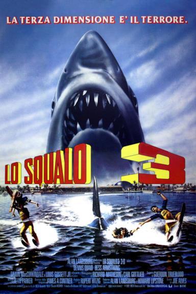 Poster Lo squalo 3