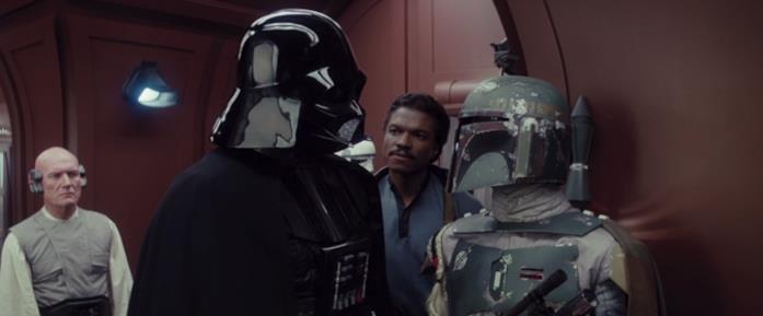 Darth Vader e Boba Fett