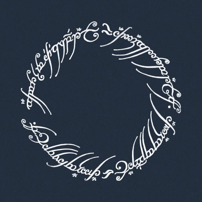 L'anello della serie TV Il Signore degli Anelli