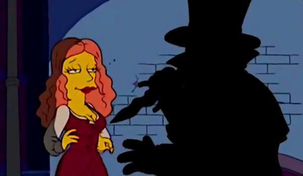La parodia di From Hell in un episodio de I Simpson