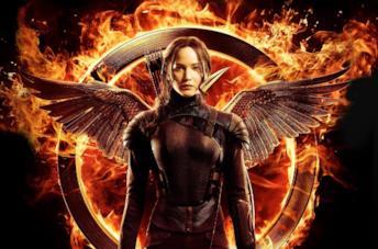 Jennifer Lawrence interpreta Katniss Everdeen