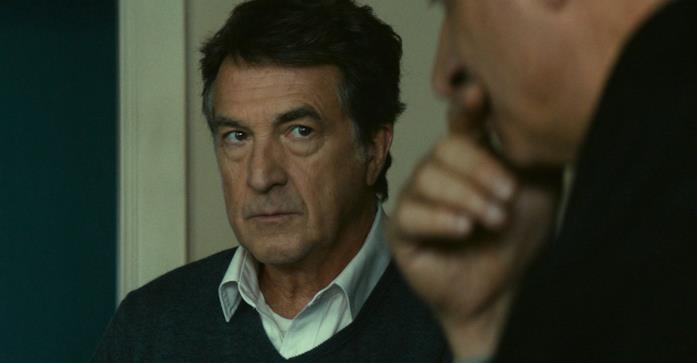 François Cluzet in una scena del film La meccanica delle ombre