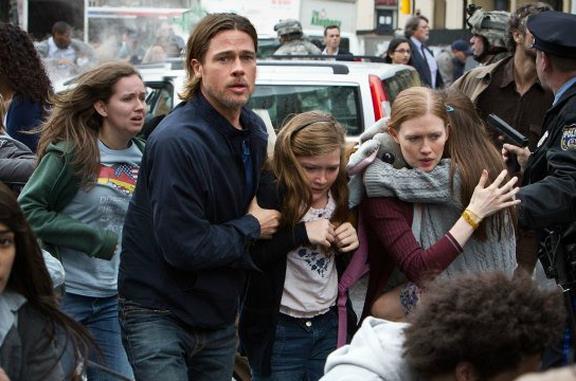 World War Z, la trama e il cast del film con Brad Pitt