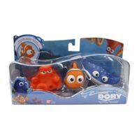 alla Ricerca di Dory–Set di 3Giocattoli da Bagno Nemo, Hank e Maestro Ray Blu