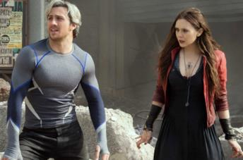 Un'immagine di Wanda e Quicksilver in Avengers: Age of Ultron