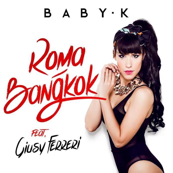 """Baby K nella copertina del brano """"Roma-Bangkok"""""""