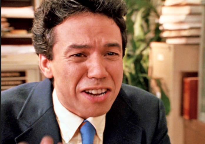 Joey in una scena di Senti chi parla