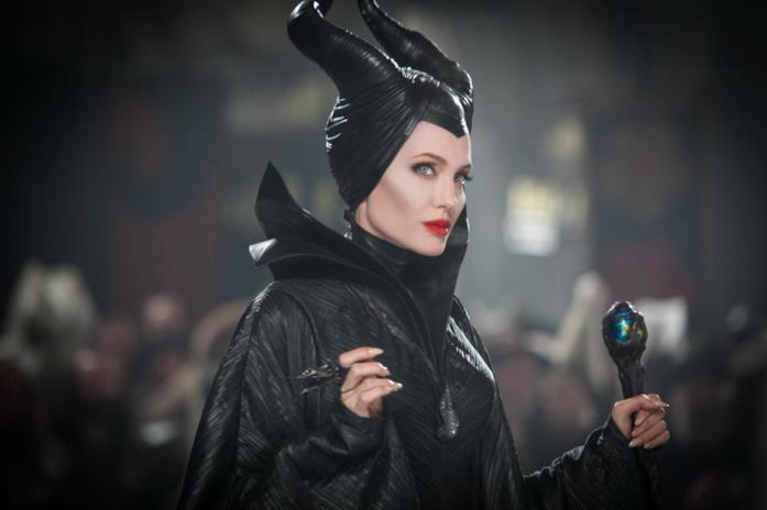 Angelina Jolie nei panni di Malefica in Maleficent