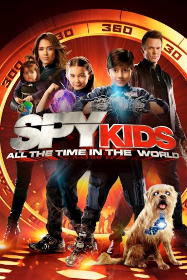 Poster Spy Kids 4 - È tempo di eroi